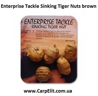 Enterprise Tackle Sinking Tiger Nuts brown