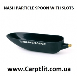 NASH PARTICLE SPOON WITH SLOTS