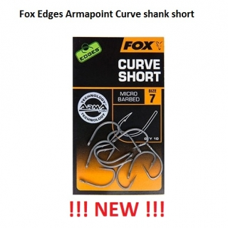 Fox Edges Armapoint Curve shank short