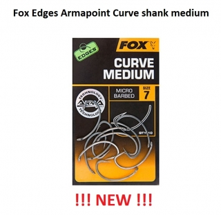 Fox Edges Armapoint Curve shank medium