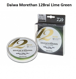Daiwa Morethan 12 Braid Lime Green
