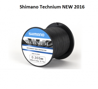 Shimano Technium NEW 2016