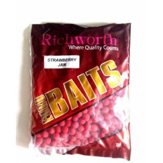Richworth Euro Boilie 14mm 1кг Strawberry Jam