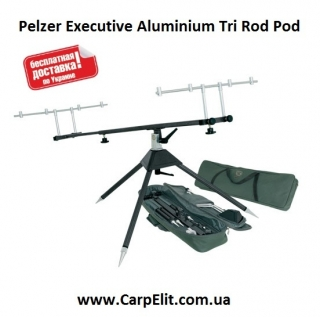 Pelzer Executive Aluminium Tri Rod Pod