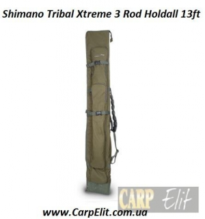 Shimano чехол Tribal Xtreme 3 Rod Holdall 13ft
