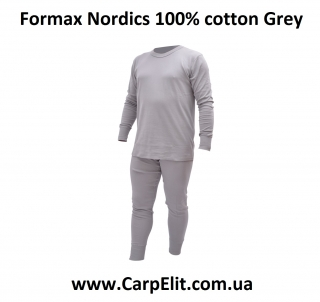 Formax Nordics 100% cotton Grey