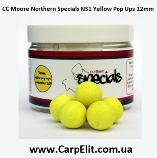 CC Moore Northern Specials NS1 Yellow Pop Ups 12mm