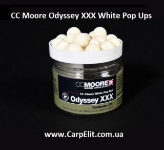 CC Moore Odyssey XXX White Pop Ups 13-14 mm