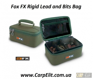 Fox FX Rigid Lead and Bits Bag