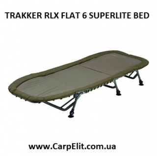 TRAKKER RLX FLAT 6 SUPERLITE BED