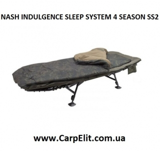 NASH INDULGENCE SLEEP SYSTEM 4 SEASON SS2