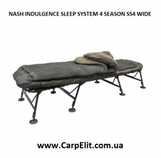 NASH INDULGENCE SLEEP SYSTEM 4 SEASON SS4 WIDE