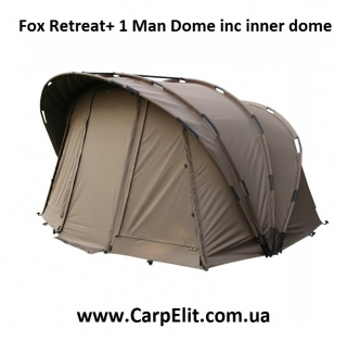 Fox Retreat+ 1 Man Dome inc inner dome