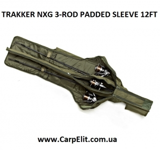 TRAKKER NXG 3-ROD PADDED SLEEVE 12FT