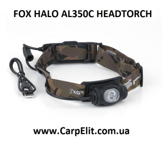 Фонарик FOX HALO AL350C HEADTORCH