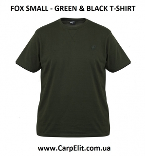 FOX SMALL - GREEN & BLACK T-SHIRT