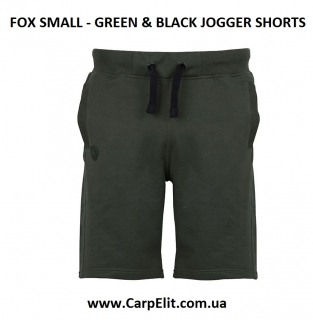 Шорты FOX GREEN & BLACK JOGGER SHORTS