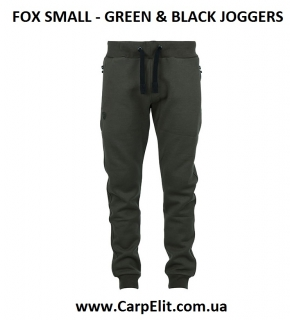 Штаны FOX GREEN & BLACK JOGGERS
