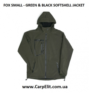 Курточка FOX GREEN & BLACK SOFTSHELL JACKET