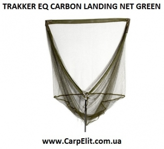 Подсак TRAKKER EQ CARBON LANDING NET GREEN