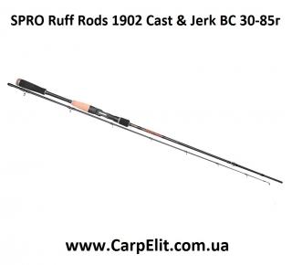 Спиннинг SPRO Ruff Rods 190*2 Cast & Jerk BC 30-85г