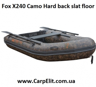 Надувная лодка Fox X240 Camo Hard back slat floor