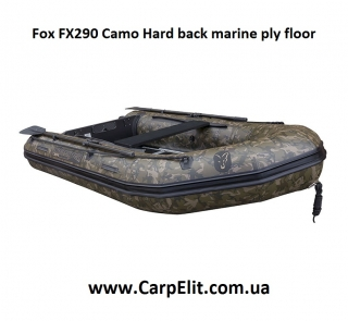 Лодка Fox FX290 Camo Hard back marine ply floor
