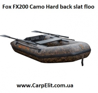 Надувная лодка Fox FX200 Camo Hard back slat floo
