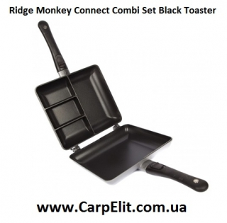 Тостер Ridge Monkey Connect Combi Set Black Toaster