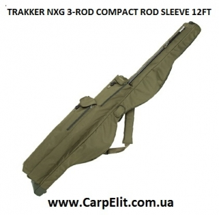 Чехол для удилищ TRAKKER NXG 3-ROD COMPACT ROD SLEEVE 12FT