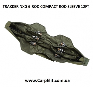 Чехол для 6 удилищ TRAKKER NXG 6-ROD COMPACT ROD SLEEVE 12FT