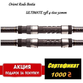 Orient Rods Bestia ULTIMATE 13ft 4-6oz 50mm