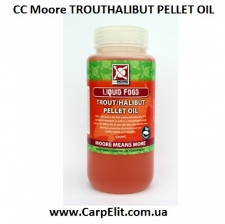Масло CC Moore TROUT/HALIBUT PELLET OIL