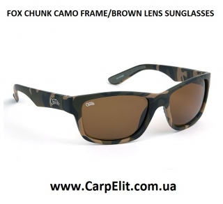 Очки FOX CHUNK CAMO FRAME/BROWN LENS SUNGLASSES