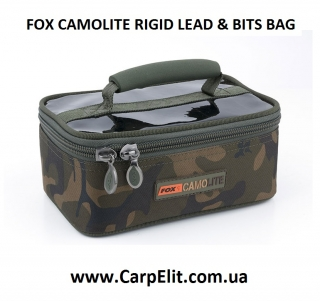Сумка FOX CAMOLITE RIGID LEAD & BITS BAG