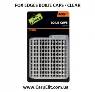 Стопора FOX EDGES BOILIE CAPS - CLEAR