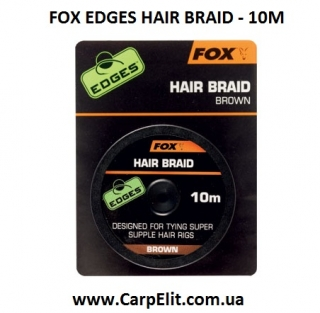 Материал для волоса FOX EDGES HAIR BRAID - 10M