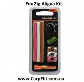 Набор для зиг-риг Fox Zig Aligna Kit (brown/pink/white)