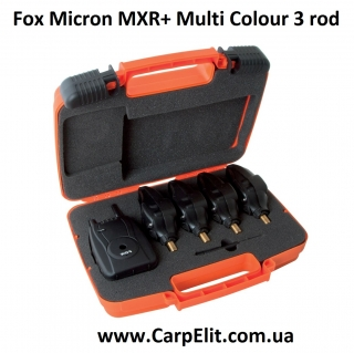 Fox Micron MXR+ Multi Colour 3 rod