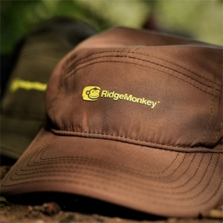 Кепка RidgeMonkey FIVE PANEL CAP BROWN