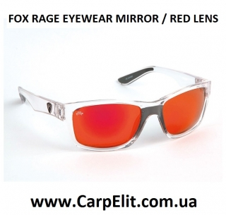Очки FOX RAGE EYEWEAR MIRROR / RED LENS