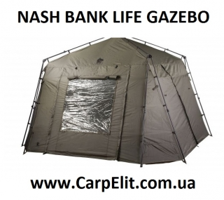 Шатер NASH BANK LIFE GAZEBO