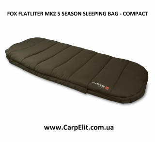 Спальник FOX FLATLITER MK2 5 SEASON SLEEPING BAG - COMPACT