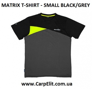 Футболка MATRIX T-SHIRT -  BLACK/GREY
