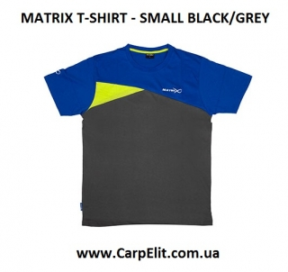 Футболка MATRIX T-SHIRT -  BLUE/GREY