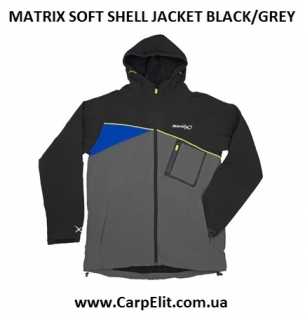 Куртка MATRIX SOFT SHELL JACKET BLACK/GREY