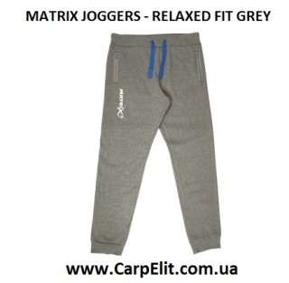 Штаны MATRIX JOGGERS - RELAXED FIT GREY