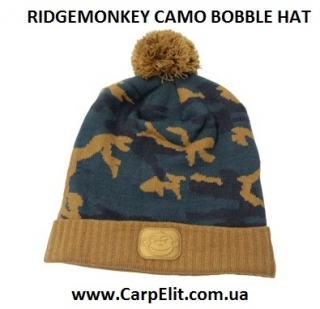 Шапка RIDGEMONKEY CAMO BOBBLE HAT