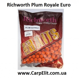 Бойлы Richworth Plum Royale Euro 20 mm