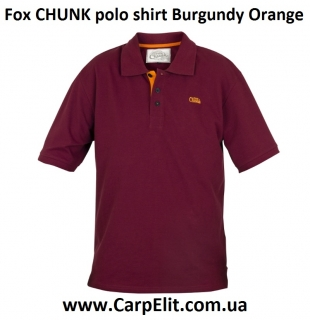 Поло Fox CHUNK polo shirt Burgundy Orange